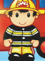 Fireman Lovely Chubblies Party Pack