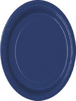 Navy Plates - 8 pack