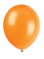Pumpkin Orange Balloons