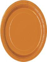 Pumpkin Orange Plates
