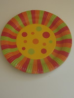 Candy Spots Large Plate