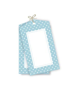Polkadot Blue Gift Tags