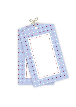 Polkadot Multi Blue Gift Tags