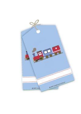Train Gift Tags