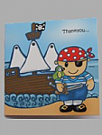Pirate - Thank you cards