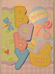 Hugs & Stitches Baby - Invitations