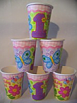 Hugs & Stitches Girl - Cups