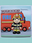 Fireman - Thank you cards