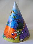 Baby Dinos - Cone Hats