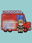 Fireman - Invitations