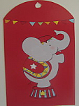 Big Top Circus - Loot Bag Tags