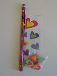 Hearts Mini Stationery Set