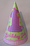 Hugs & Stitches Girl - Cone hats