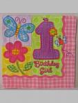 Hugs & Stitches Girl - Napkins