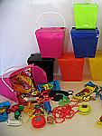 Coloured Plastic Noodle Boxes