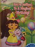 Dora's Fairytale Adventures Invites - 8 pack