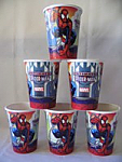 Spiderman - Cups