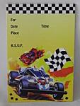 Racer - Invitations